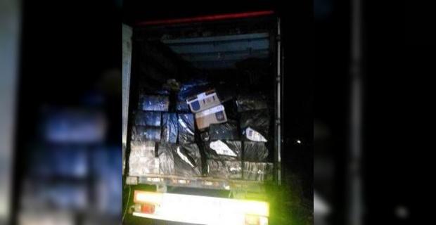 37 bin paket kaçak sigara yakalandı.