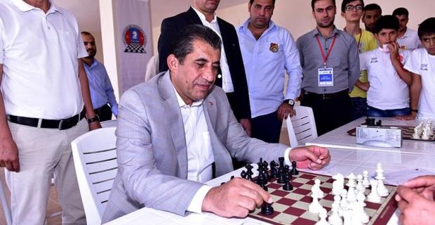 Ceylanpınar Belediyesi Satranç Turnuvası Başladı