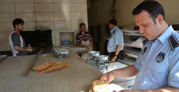 Ekmek fırınları ve unlu mamul üretimi yapan esnaflar denetlendi.