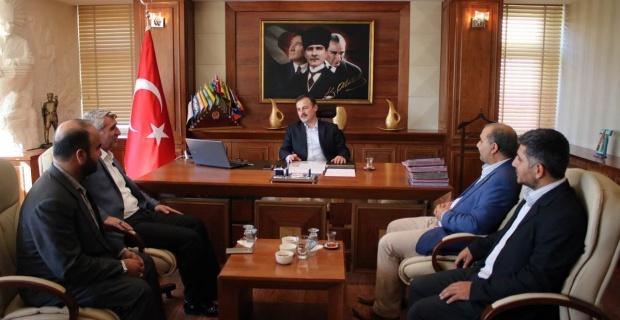 Hüda-Par Şanlıurfa İl Başkanlığından Birecik Kaymakamlığına Ziyaret