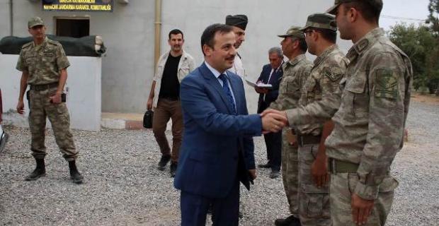 Perçi, Kuyucak Jandarma Karakolunda