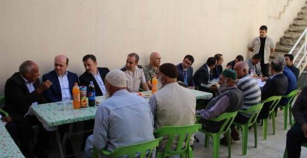 Perçi,Cumhuriyet Mahallesinde Vatandaşlarla Buluştu