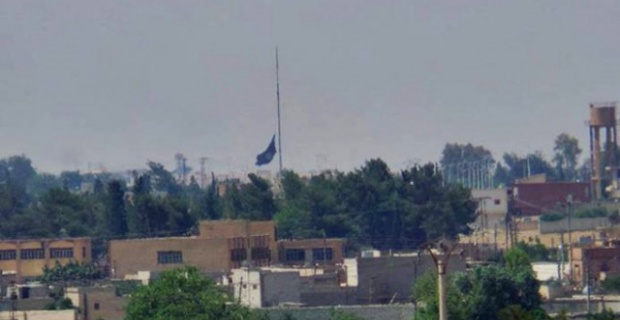 Tel Abyad'dan Taciz Atışı