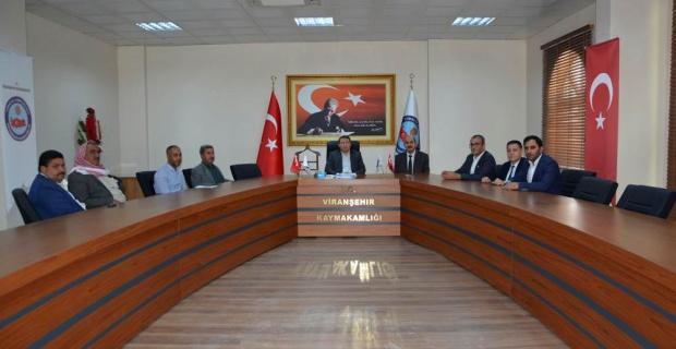 TOKİ Yetkilileri Çimşit'i ziyaret etti.