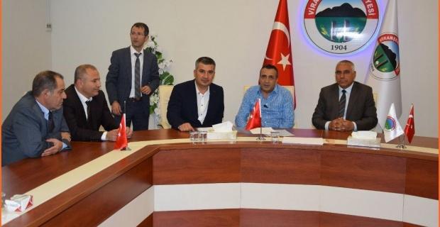 Viranşehir'de Dev Park İçin Sözleşme İmzalandı.