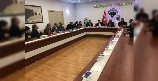 """Çimşit,""""Hedefimiz  Viranşehir'i hak ettiği yere getirmek ve yaşanılır bir şehir oluşturmaktır"""""""