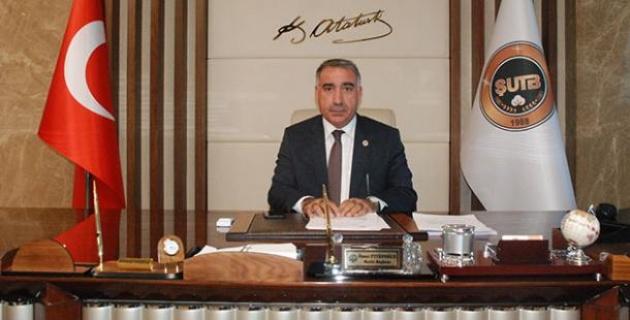 """Eyyüpoğlu,""""dostluk, kardeşlik, dayanışma duygularının güç kazandığı bir yıl olmasını diliyorum."""""""