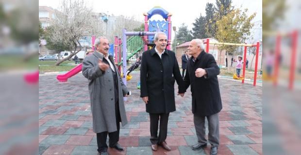 """Demirkol, """"Yeni yılın ilk gününde yine Haliliye'de halkımızın arasındayız"""""""