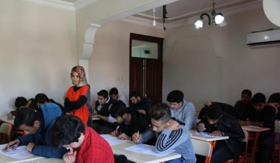 Eyyübiye Belediyesi ücretsiz deneme sınavı yaptı