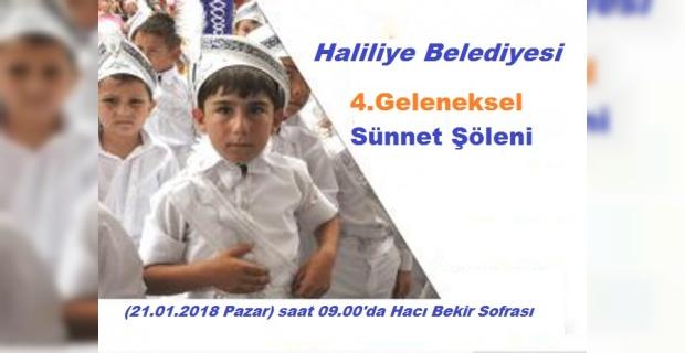 Haliliye'den Sünnet Şöleni