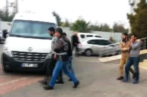 Hırsızlık Yapan Suriye Uyruklu 5 Kişi Yakalandı