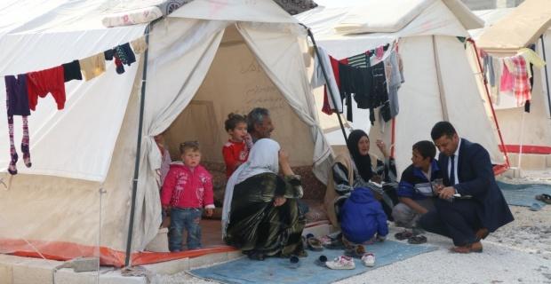 Suriyelilerle koordinasyon görevi Akkurt'a verildi