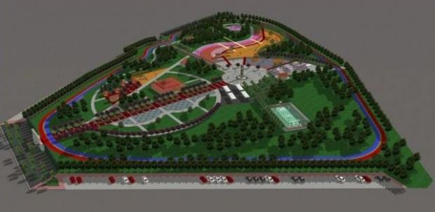 Viranşehir'de 53 Dönümlük dev Rekreasyon park yapımı devam ediyor.