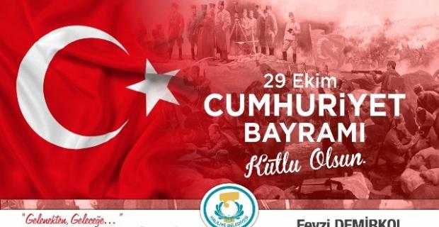 Demirkol,Cumhuriyet'in 95'inci yıl dönümünü Kutladı.