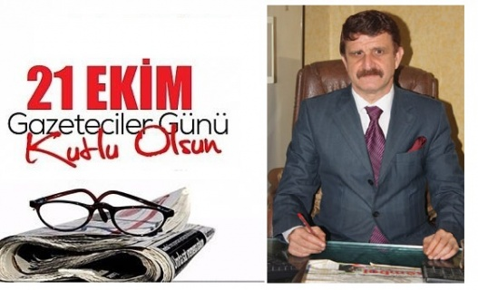 """Erbülbül, """"21 Ekim Dünya Gazeteciler Günü"""" dolayısıyla mesaj yayımladı."""