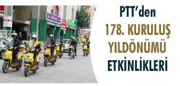 PTT 178.Kuruluş Yıldönümünü Kutluyor.