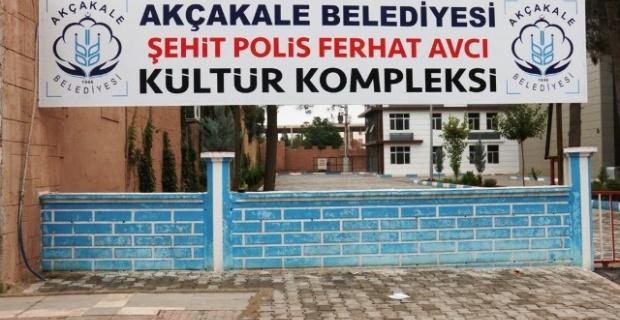 Şehit Polis'in İsmi Kültür Merkezinde Yaşayacak.
