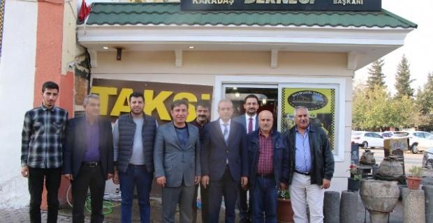 """Demirkol, """"Şehrimizin en iyi tanıtımı için taksici esnafımıza çok büyük görev düşmektedir"""""""