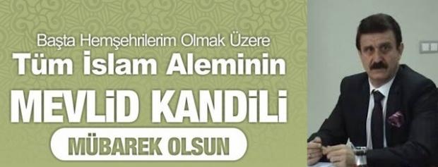 """Erbülbül,""""İslam âlemine hayırlar getirmesini niyaz ederim"""""""