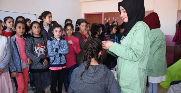 Hilvan Kadın Kültür Merkezi'nden anlamlı hizmet