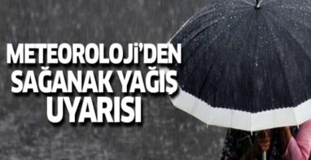 Metroloji'den Sağanak Yağış Uyarısı