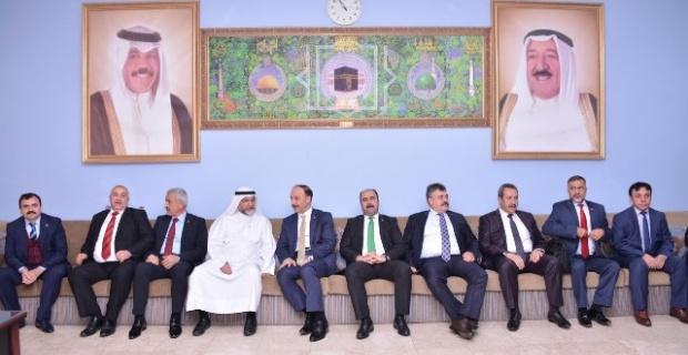 Şanlıurfa Heyeti Kuveyt'ten Döndü