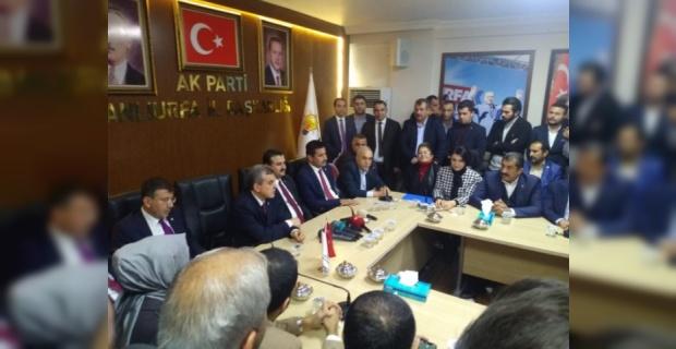 AK Parti'den Basın Toplantısı