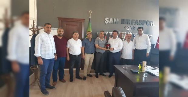 ASKON'dan Şanlıurfaspor Yönetimine Başarı Dilekleri