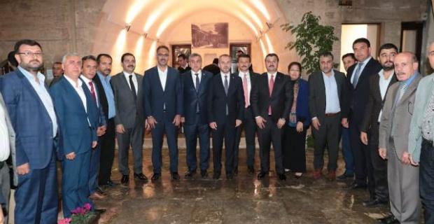 AK Parti Kurmayları Şanlıurfa'da