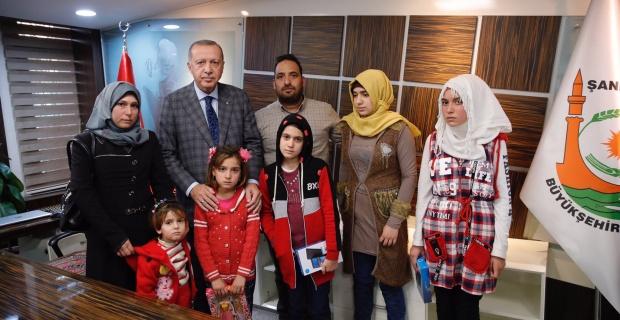 Cumhurbaşkanı Erdoğan Şehit Yakınları İle Görüştü