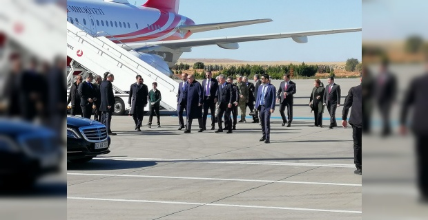 Cumhurbaşkanı Erdoğan,Şanlıurfa'ya geldi.