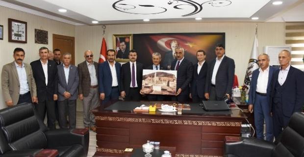 Karasayar'dan Başkan Bayık'a Ziyaret
