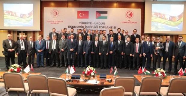 Türkiye-Ürdün Ekonomik İşbirliği Toplantısı Şanlıurfa'da gerçekleştirildi.
