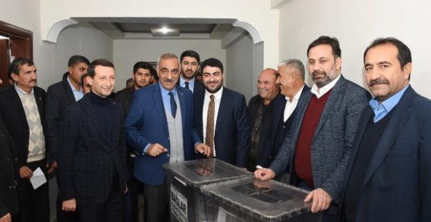 Ak Parti Hilvan Delege Seçimi Heyecanı