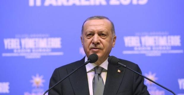 Cumhurbaşkanı Erdoğan, Uluslararası Yerel Yönetimlerde 6. Kadın Şûrası programında konuştu.