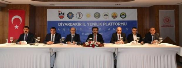 """Diyarbakır'da """" İl Yenilik Platformu"""" kuruldu."""