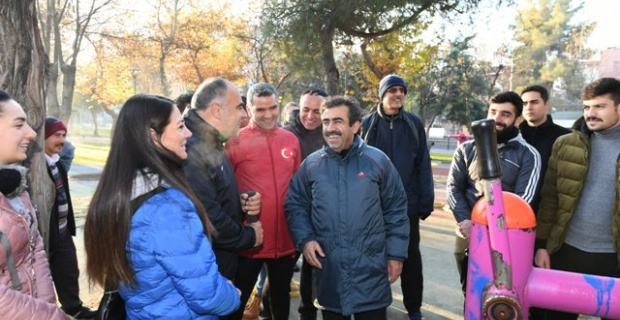 Diyarbakır'da Sabah Sporu