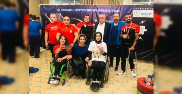 Engelli sporcular 5 dalda birinci olarak Şanlıurfa'ya büyük gurur yaşattı