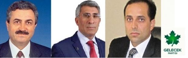 Gelecek Partisine 3 Şanlıurfa'lı Kurucu Üye