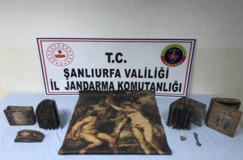 Jandarma'dan Tarihi Eser Kaçakçılarına Darbe!