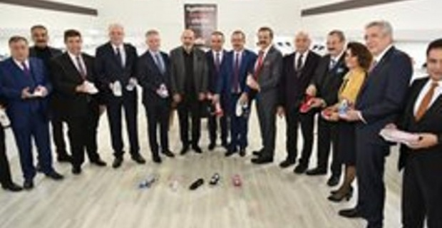 Kilis Valisi SOYTÜRK,  Uluslararası 30. Ayakkabı Fuarı Açılış Törenine Katıldı