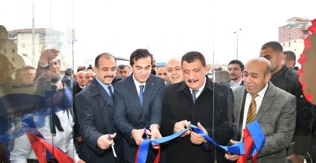 Malatya'ya Anadolu Bank Şubesi Hizmete Girdi