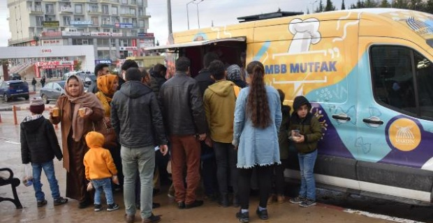 Mardin Büyükşehir'den Çorba İkramı