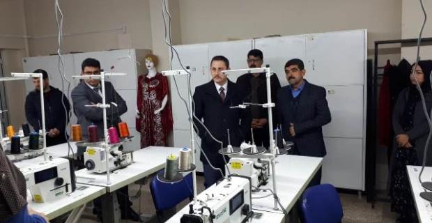 Viranşehir Halk Eğitim Merkezinden Tekstil Atölyesi