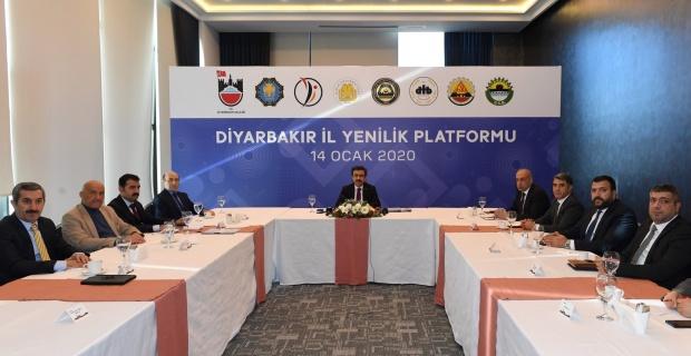 """Diyarbakır'a """"İl Yenilik Platformu"""""""