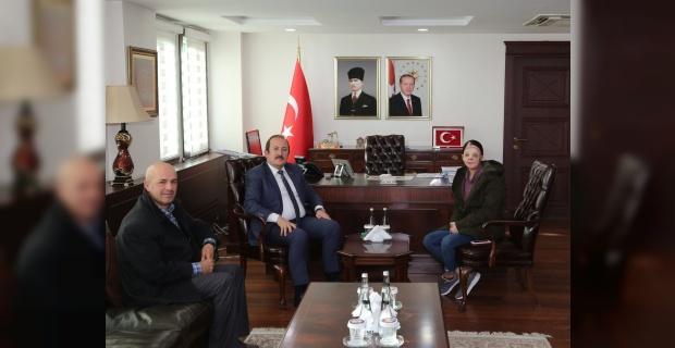 Firdevs Tatar,Şırnak Valisi Pehlivan'ı ziyaret etti.