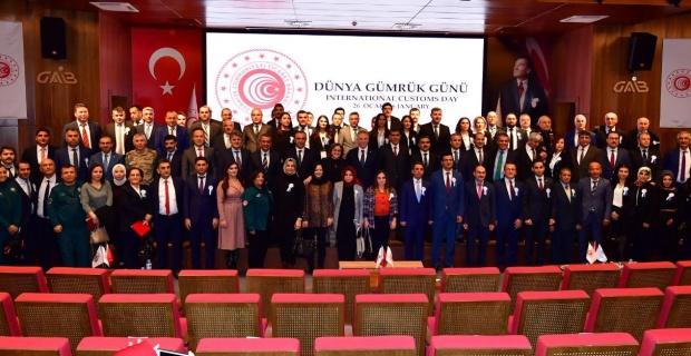 """Gaziantep Valisi Gül """"Dünya Gümrük Günü'nü kutladı"""""""
