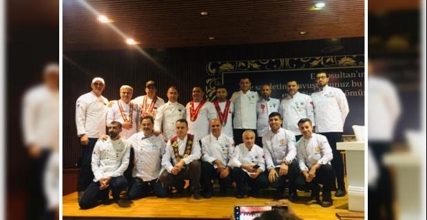 Harran Üniversitesi Aşçıları Başarılarına Bir Yenisini Daha Ekledi