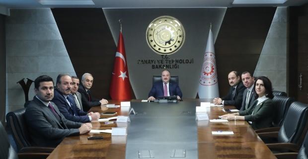 Milletvekilleri,Bakan Varak'ı Ziyaret Ettiler.