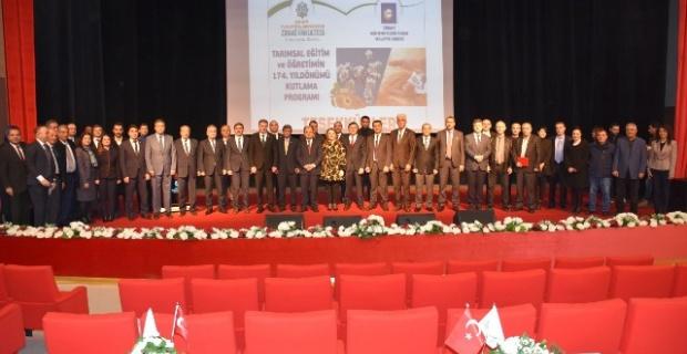 MTÜ'de Tarımsal Eğitim ve Öğretimin 174. Yıldönümü Töreni Yapıldı